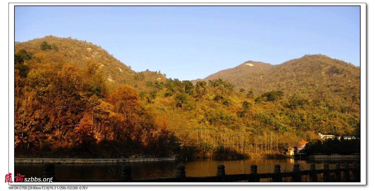 新余芦茅沟风景区图片